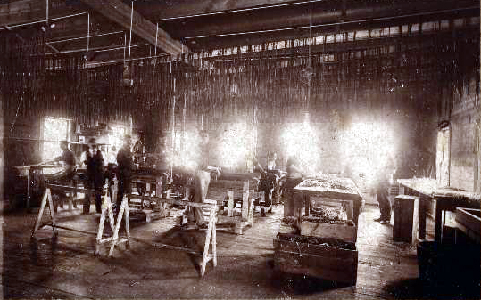 Inside 1897 Shoe Factory (thank you Martyn Young)