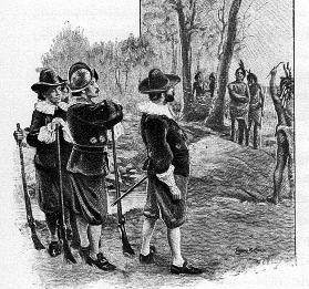 Standish & Indians
