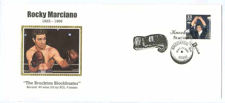 Rocky's Stamp/First Day Cover